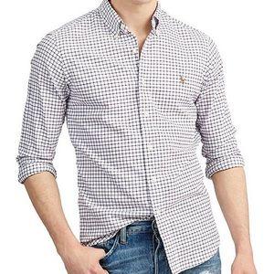 POLO RALPH LAUREN Tattersall Oxford Woven Shirt